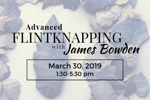 advanced flintknapping class