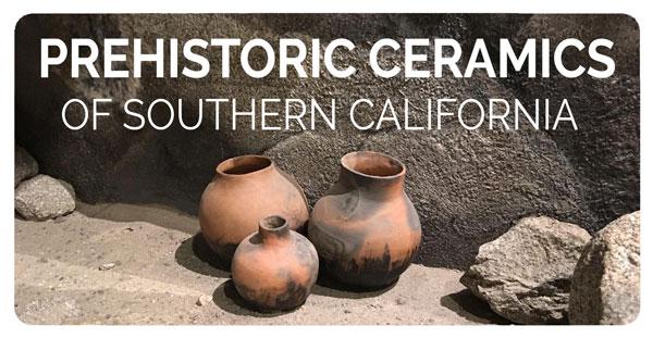 Prehistoric Ceramics Button